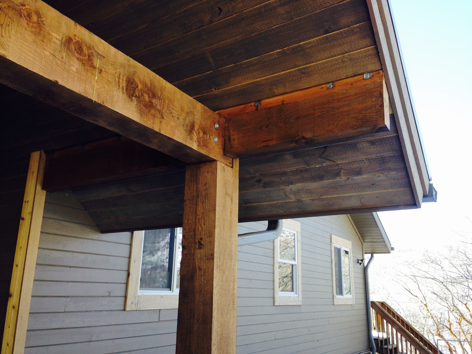 Wood Soffit Install Meticulous Home Remodel Amp Repair