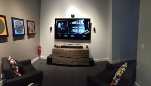 New feature room at Bose in City Creek.